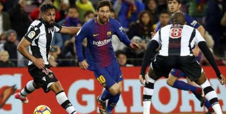 DirecTV transmite en vivo Levante vs Barcelona por LaLiga Santander 2018/19   El Diario 24