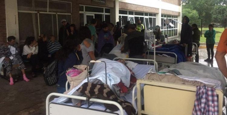 El Hospital Oñativia fue afectado por un incendio y tuvo 180 evacuados | El Diario 24