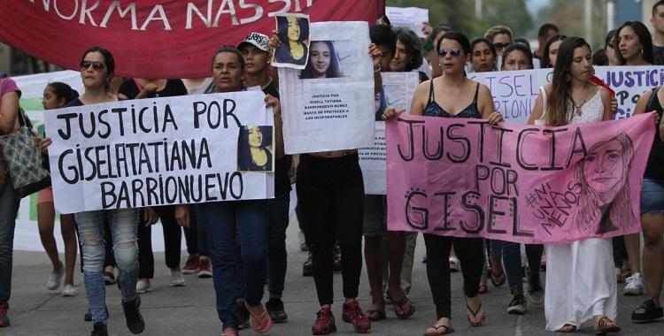 Monteros: Marchan por el femicidio de Gisell Barrrionuevo tras la liberación de los acusados   El Diario 24