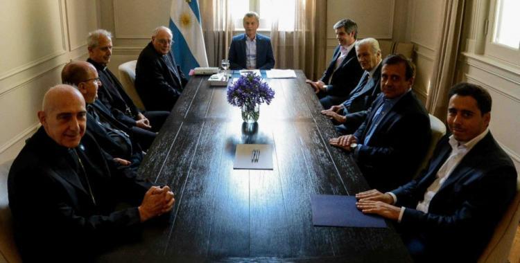 Macri recibe a la cúpula de la Iglesia Católica   El Diario 24