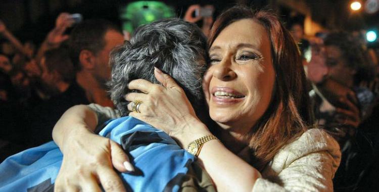 Cristina también envió un abrazo principalmente a quienes la están pasando mal | El Diario 24