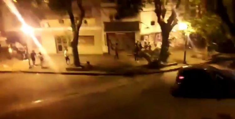 Batalla campal durante una masiva fiesta clandestina en La Plata | El Diario 24
