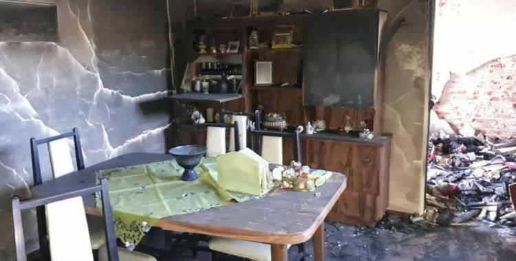 Otra casa fue robada y quemada durante Navidad | El Diario 24