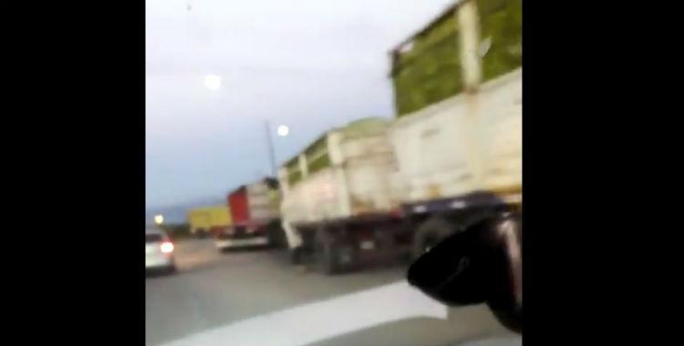 Transportistas distribuyeron los camiones para impedir el ingreso a las citrícolas | El Diario 24