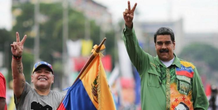 Multaron a Maradona por dedicarle un triunfo a Maduro | El Diario 24
