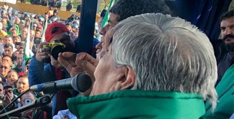 Moyano anunció un paro nacional para el 30 de abril   El Diario 24
