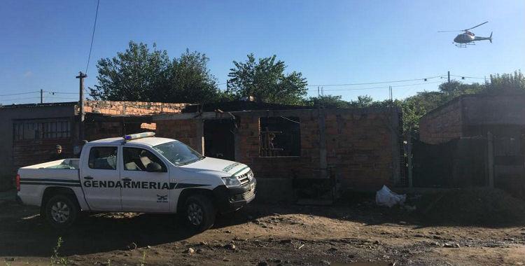 Villa Carmela: 200 gendarmes participaron de varios allanamientos | El Diario 24