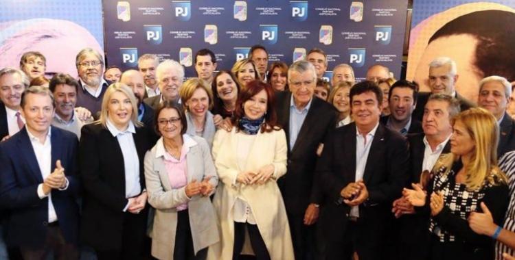 Cristina Kirchner participó en la reunión del Consejo Nacional del PJ   El Diario 24