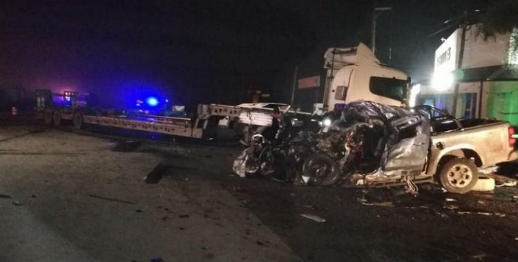 Seis personas murieron en un accidente de tránsito en Sunchales | El Diario 24
