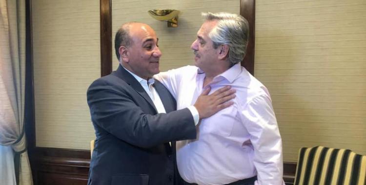 Manzur estuvo en Buenos Aires y recibió el apoyo de Alberto Fernández antes de las elecciones   El Diario 24