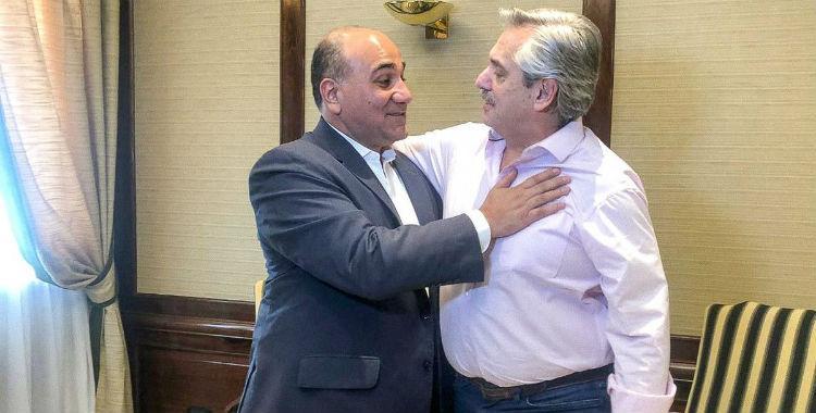 Alberto Fernández saludó a Juan Manzur por su reelección   El Diario 24