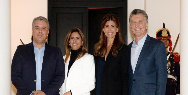El comercio bilateral y la situación de Venezuela, ejes de la reunión entre Macri y Duque | El Diario 24