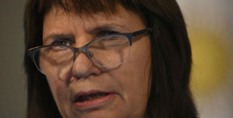 Denunciaron a Patricia Bullrich por llevar adelante un plan sistemático de represión   El Diario 24