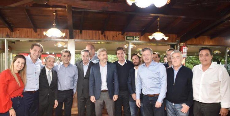 Pichetto compartió un asado con funcionarios de Cambiemos | El Diario 24