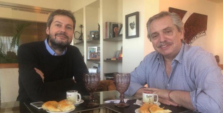 La foto del desayuno entre Fernández y Lammens tras la candidatura | El Diario 24