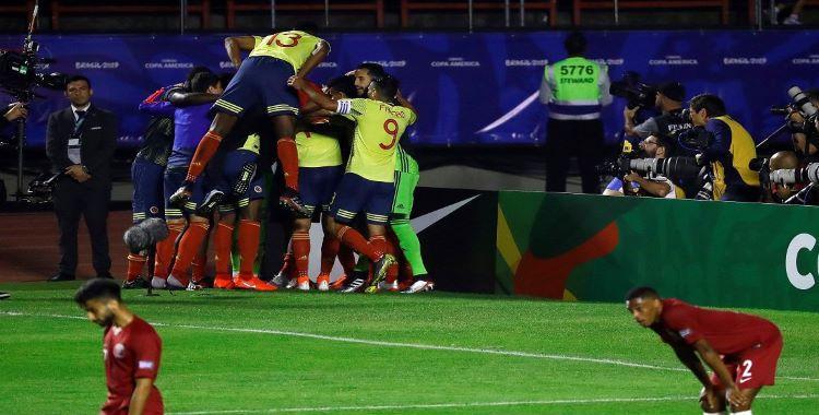 Colombia venció a Catar con un gol sobre el final y clasificó a Cuartos   El Diario 24