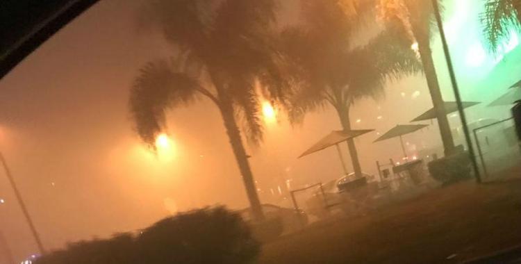 Se produjo un incendio en un complejo de comercios de Yerba Buena   El Diario 24