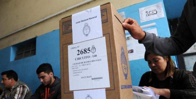 Las PASO en Tucumán: se definen internas para diputados y los candidatos a presidente   El Diario 24