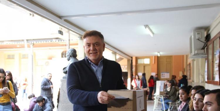 Amaya votó y volvió a criticar el sistema electoral de acoples | El Diario 24