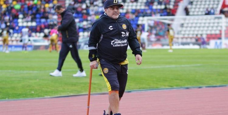 Maradona niega rumores y admite la posibilidad de dirigir a Gimasia | El Diario 24