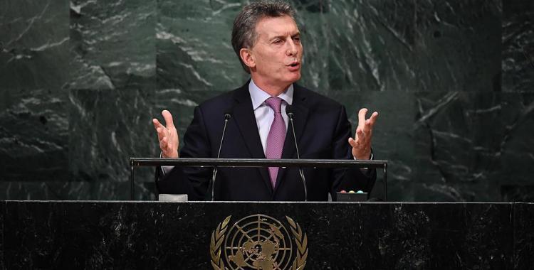 Macri viaja a Nueva York para asistir a la Asamblea General de la ONU | El Diario 24