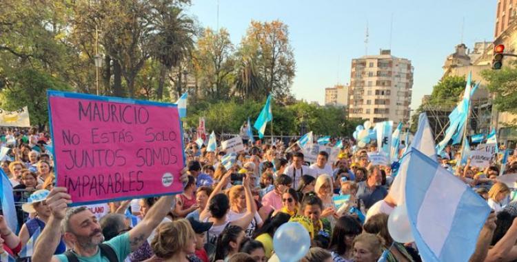 Macri reunió a miles de personas en Tucumán con su marcha del #SíSePuede   El Diario 24