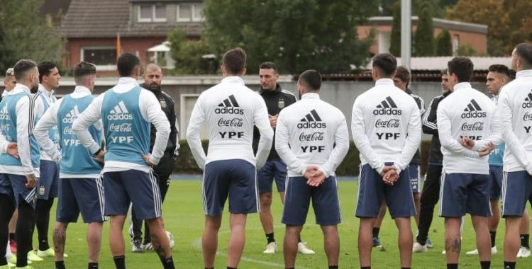 Argentina ya se entrena pensando en el amistoso ante Alemania   El Diario 24