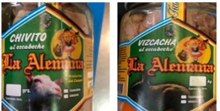 La Anmat prohibió alimentos al escabeche marca La Alemana   El Diario 24