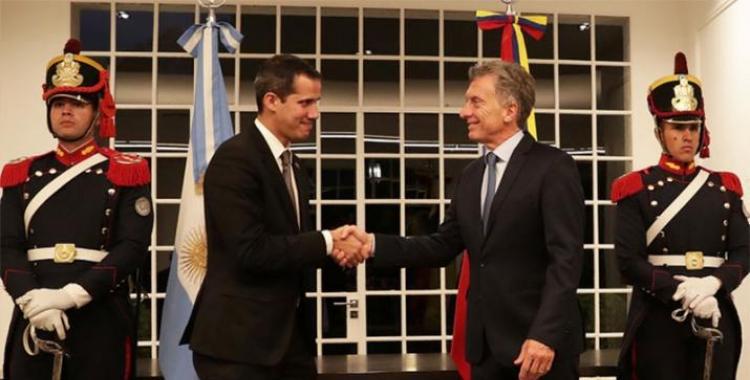 Polémica: Mauricio Macri corre del país a los diplomáticos de Nicolás Maduro | El Diario 24