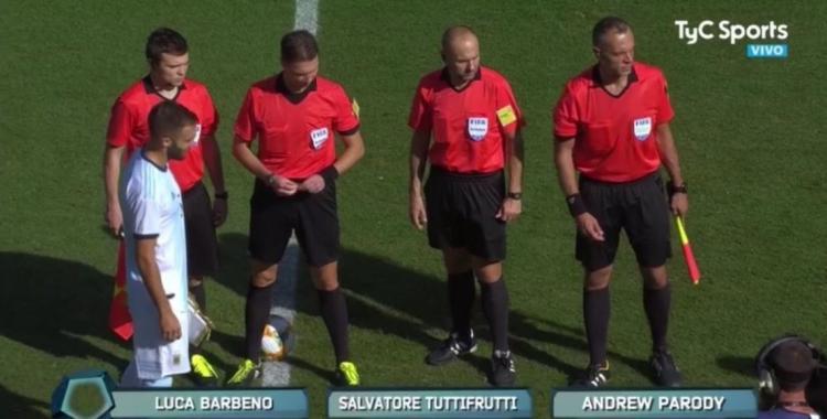 Un asistente de Argentina vs Ecuador se llama Salvatore Tuttifrutti   El Diario 24