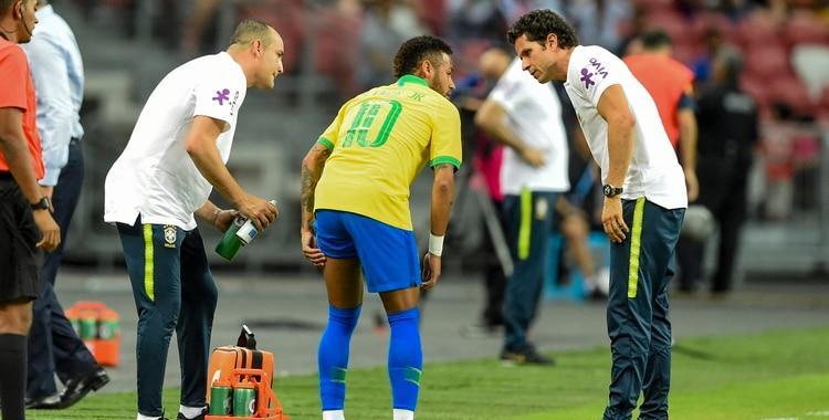 Brasil empató ante Nigeria y hay preocupación por una nueva lesión de Neymar   El Diario 24