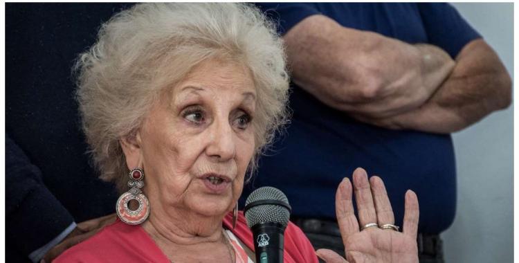 Estela de Carlotto se enojó y dijo que Gómez Centurión es un salvaje | El Diario 24