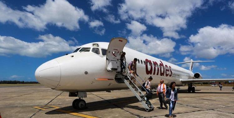 Los aeronavegantes comienzan un paro de una semana en la empresa Andes | El Diario 24