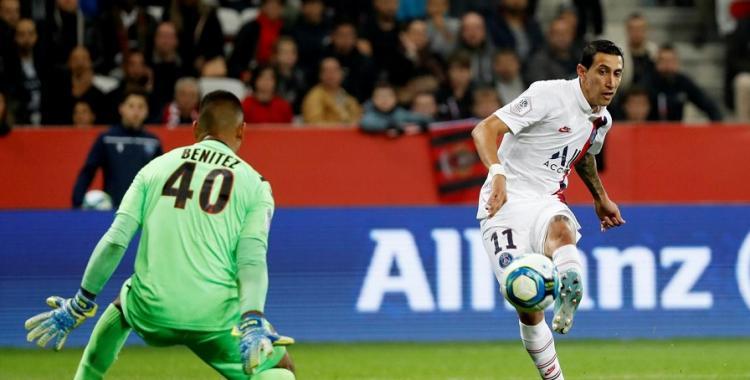 Di María se lució y metió un doblete en la goleada del PSG a Niza   El Diario 24