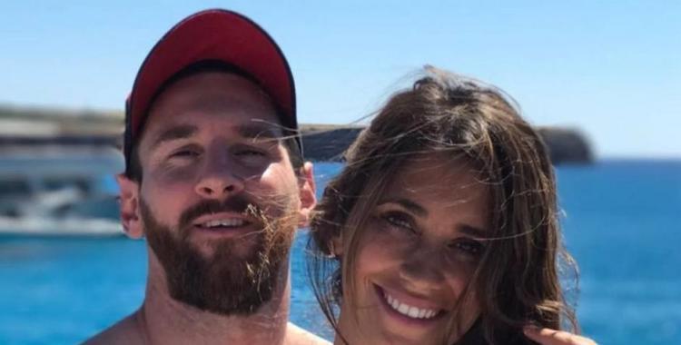 Con una divertida foto, Messi recordó el inicio de su relación con Antonella | El Diario 24