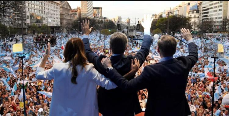 Macri ante una multitud en el Obelisco: No nos vamos a quedar callados viendo como nos roban el futuro | El Diario 24