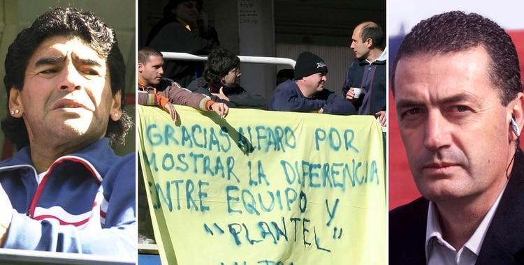 Historia detrás de la polémica bandera en apoyo a Gustavo Alfaro que desató un caos en Boca | El Diario 24