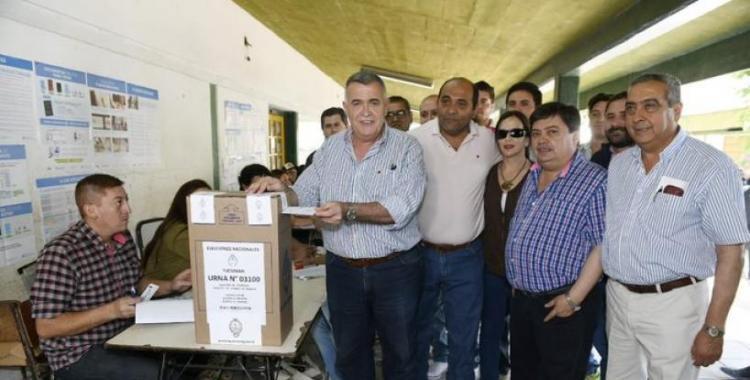 Votó Jaldo en Trancas: Será una fiesta histórica de la democracia   El Diario 24