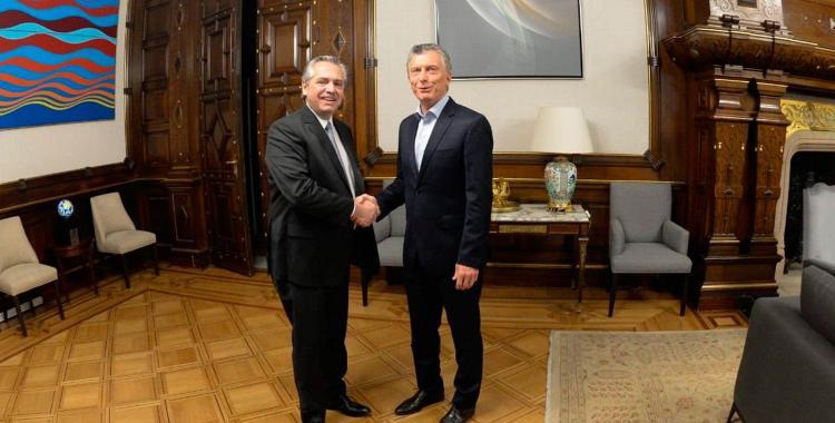 Alberto le pidió a Macri que hablen del futuro para iniciar la transición | El Diario 24