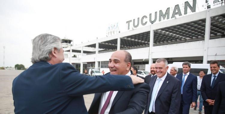 Alberto Fernández ya está en Tucumán en los actos de la asunción de Manzur | El Diario 24