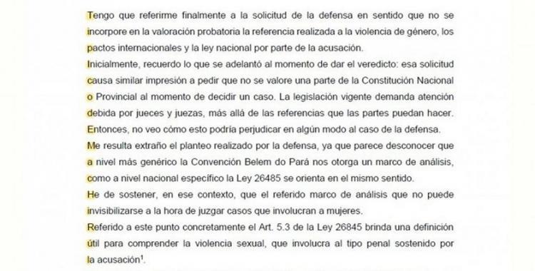 Típico de machirulo, el mensaje oculto de un fallo que condena a un abusador   El Diario 24