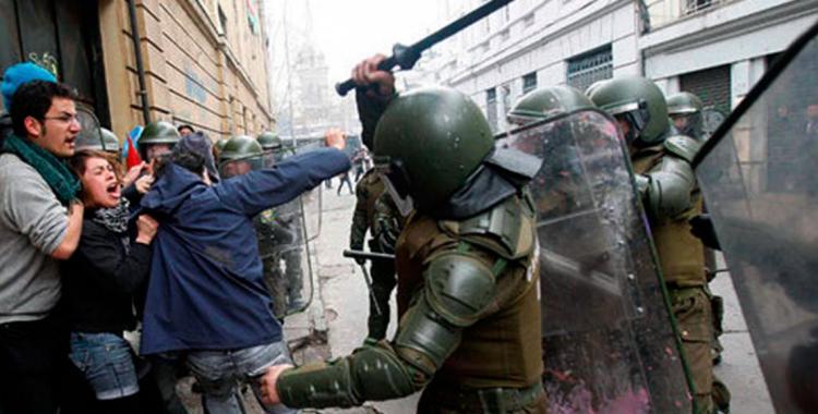 Carabineros niega que haya represión contra las protestas en Chile   El Diario 24