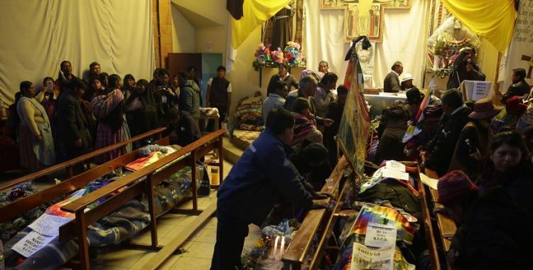 La Defensoría del Pueblo de Bolivia confirmó 32 muertos por la represión de la dictadura   El Diario 24