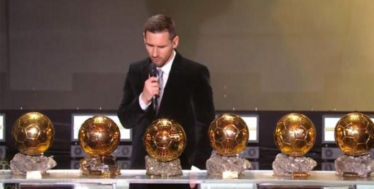 Siguen los éxitos: Lionel Messi ganó su sexto Balón de Oro | El Diario 24