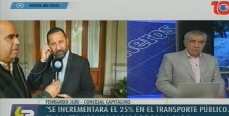 Fernando Juri confirmó que el boleto urbano tendrá un valor de 30 pesos | El Diario 24