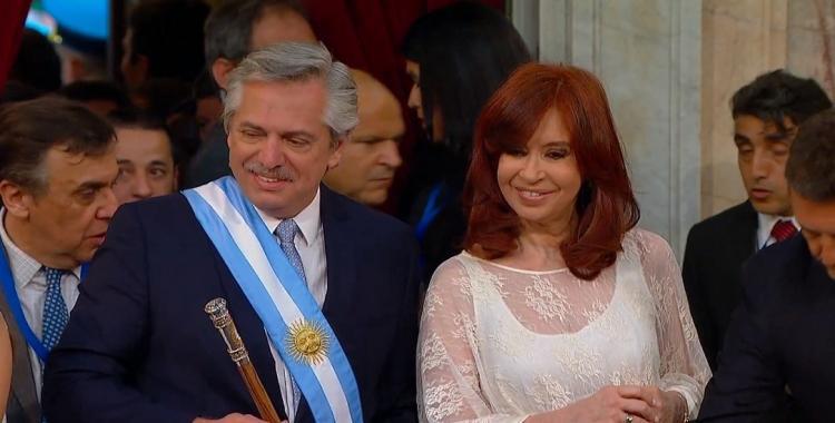 Alberto Fernández y Cristina Fernández de Kirchner ya son presidente y vice de la Argentina | El Diario 24