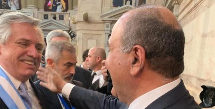Manzur acompañó la asunción de Alberto y Cristina: Va ser un gran presidente   El Diario 24