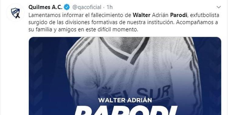 A los 54 años, muere el ex goleador de Racing e Independiente Walter Parodi   El Diario 24