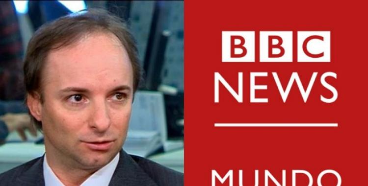 Papelón de un economista liberal que subió un video suyo como si fuera de la BBC | El Diario 24