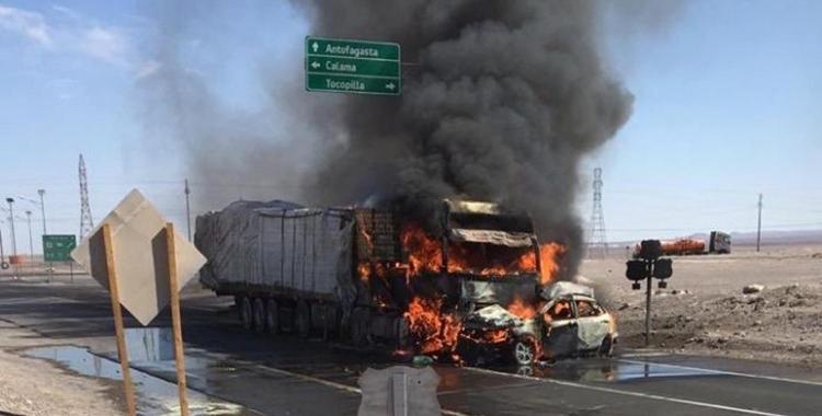 Cuatro integrantes de una familia tucumana mueren en un choque en Antofagasta, Chile | El Diario 24